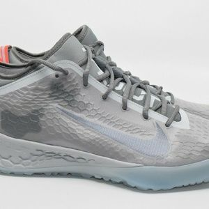 Nike Force Zoom Trout 5 Turf Platinum Wolf Gray